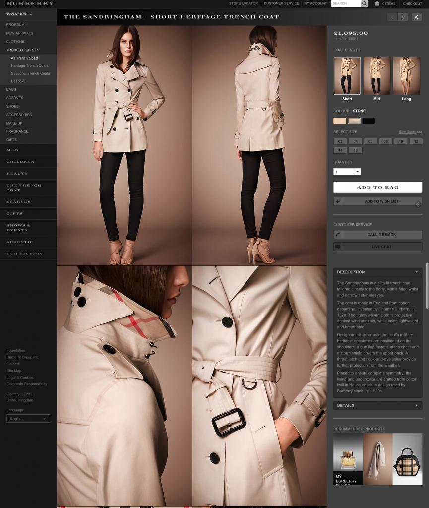 Ürün Sayfa Düzenine 12 Mükemmel Model