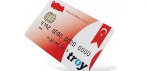 Yerli Kredi Kartı Troy
