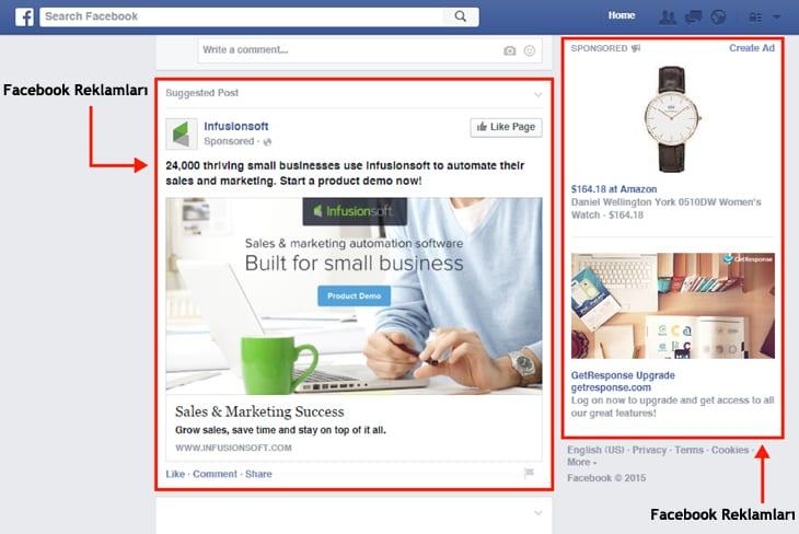 facebook reklamlari olusturma