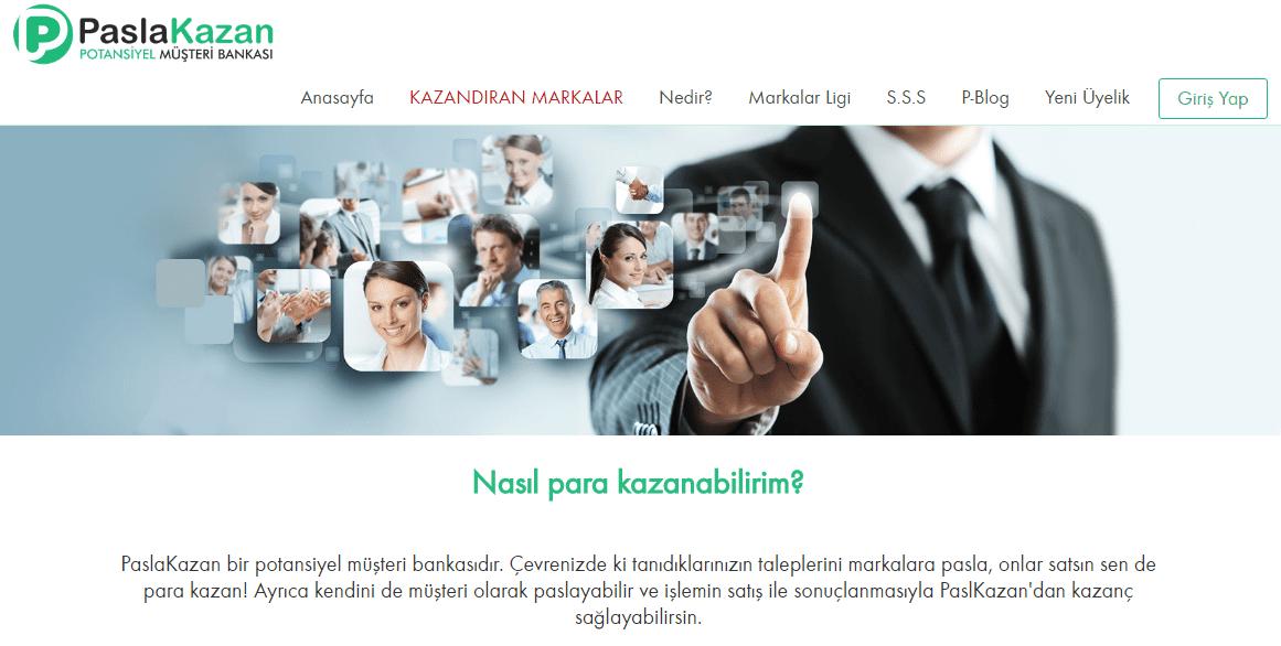 Markalar için Yeni Pazarlama Kanalı Paslakazan